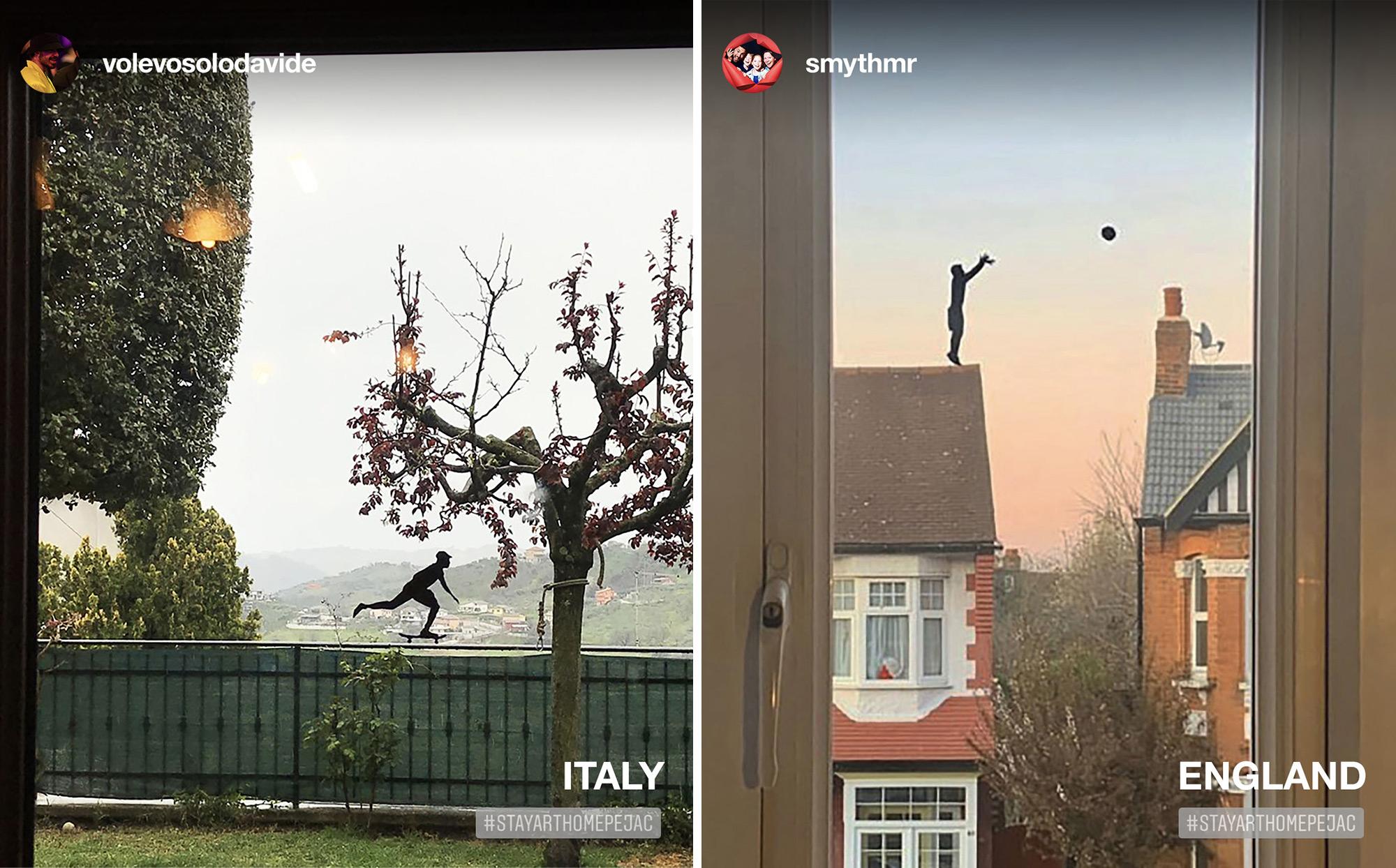 Pejac Launches Movement to Transform Home Windows into Imaginative Silhouette Art
