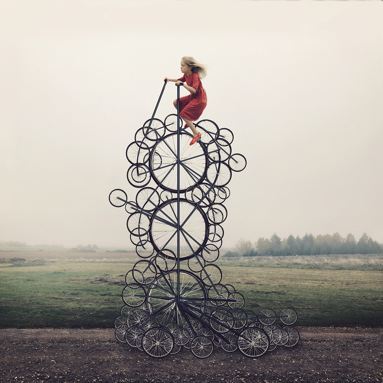 Women in Motion Energize Dreamy Photographs by Kylli Sparre