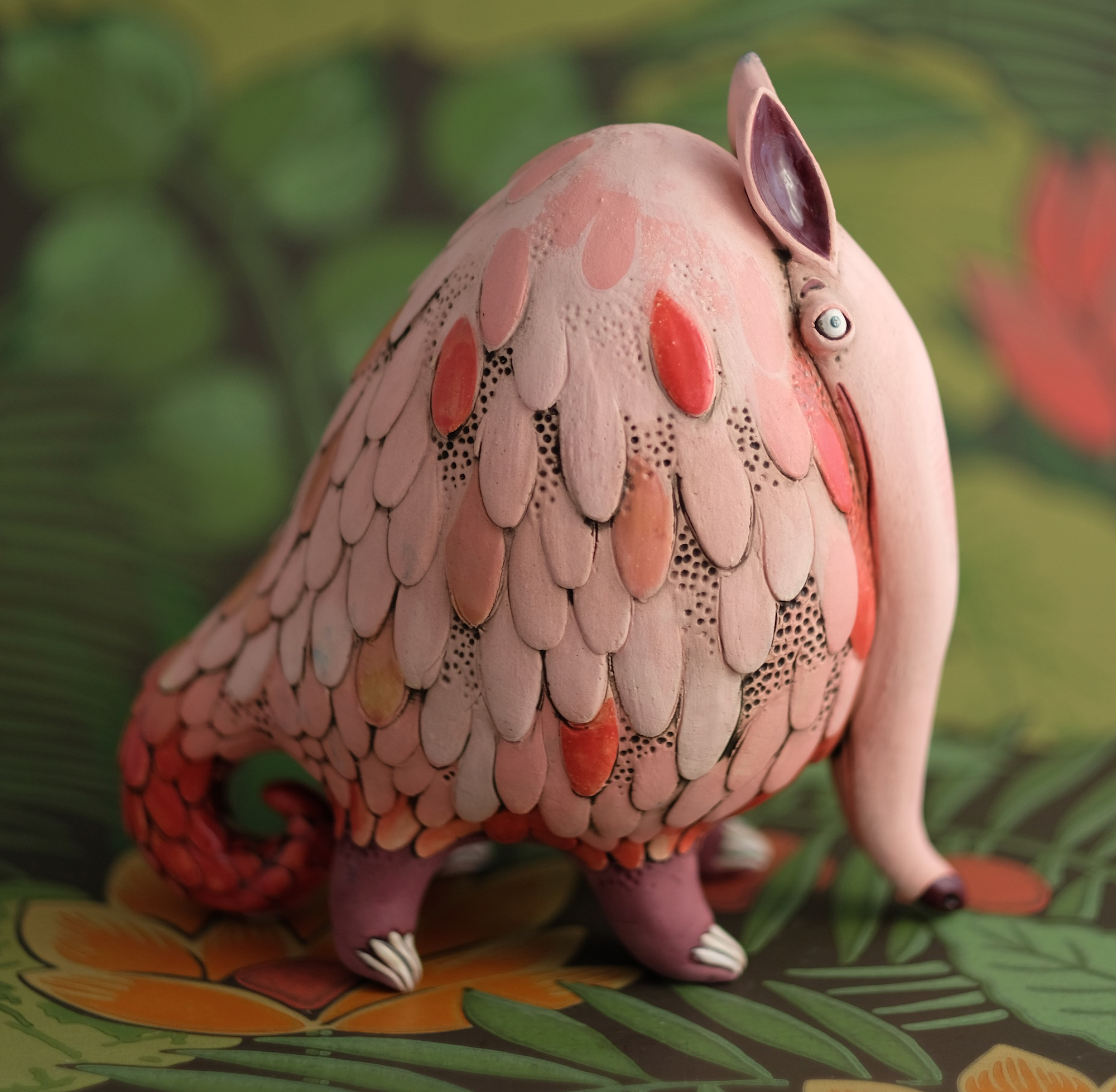 Derpy Animals by Ceramicist Nastia Calaca Channel Peculiar Storybook Characters