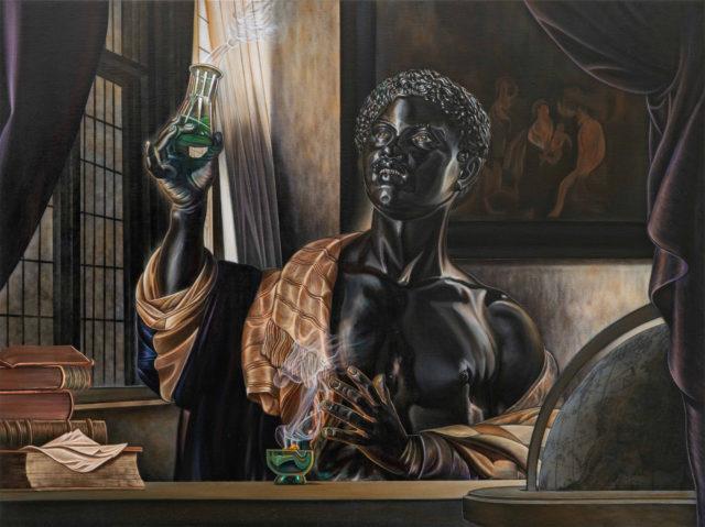 Subversive and Grandiose, Kajahl's Vivid Portraits Supplant Historical Narratives