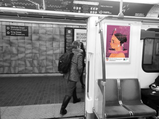 Life on the Line: 10 Artists Spread Mental Health Awareness Across Toronto's Subway