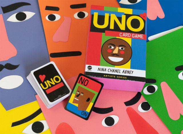Play a Game of UNO with Nina Chanel Abney's New Deck Featuring Her Bold, Energetic Style