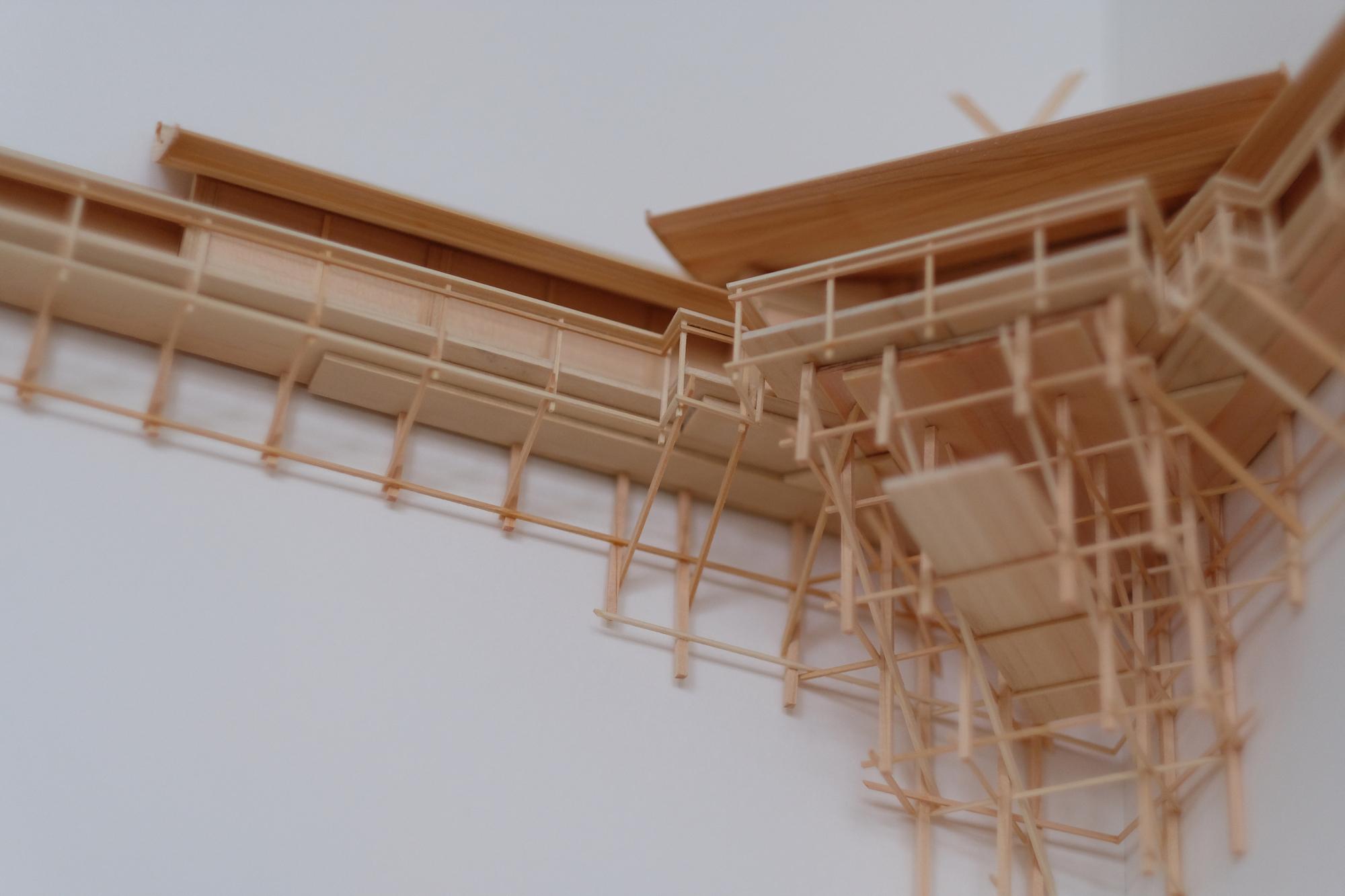 Um elaborado santuário Kamidana com design de Naohiko Shimoda Artes & contextos shimoda 5