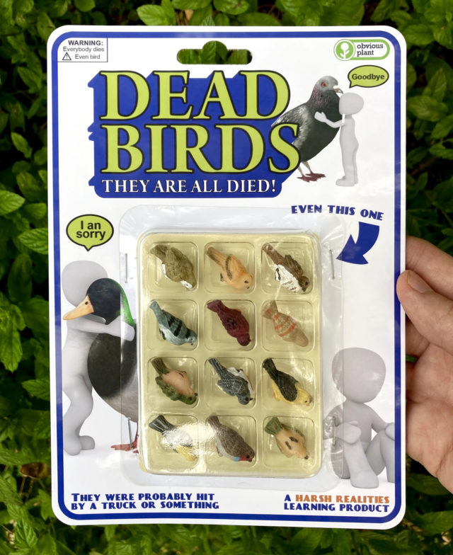 Demented Toys by Obvious Plant Confront Harsh Realities and the Mundanity of Life