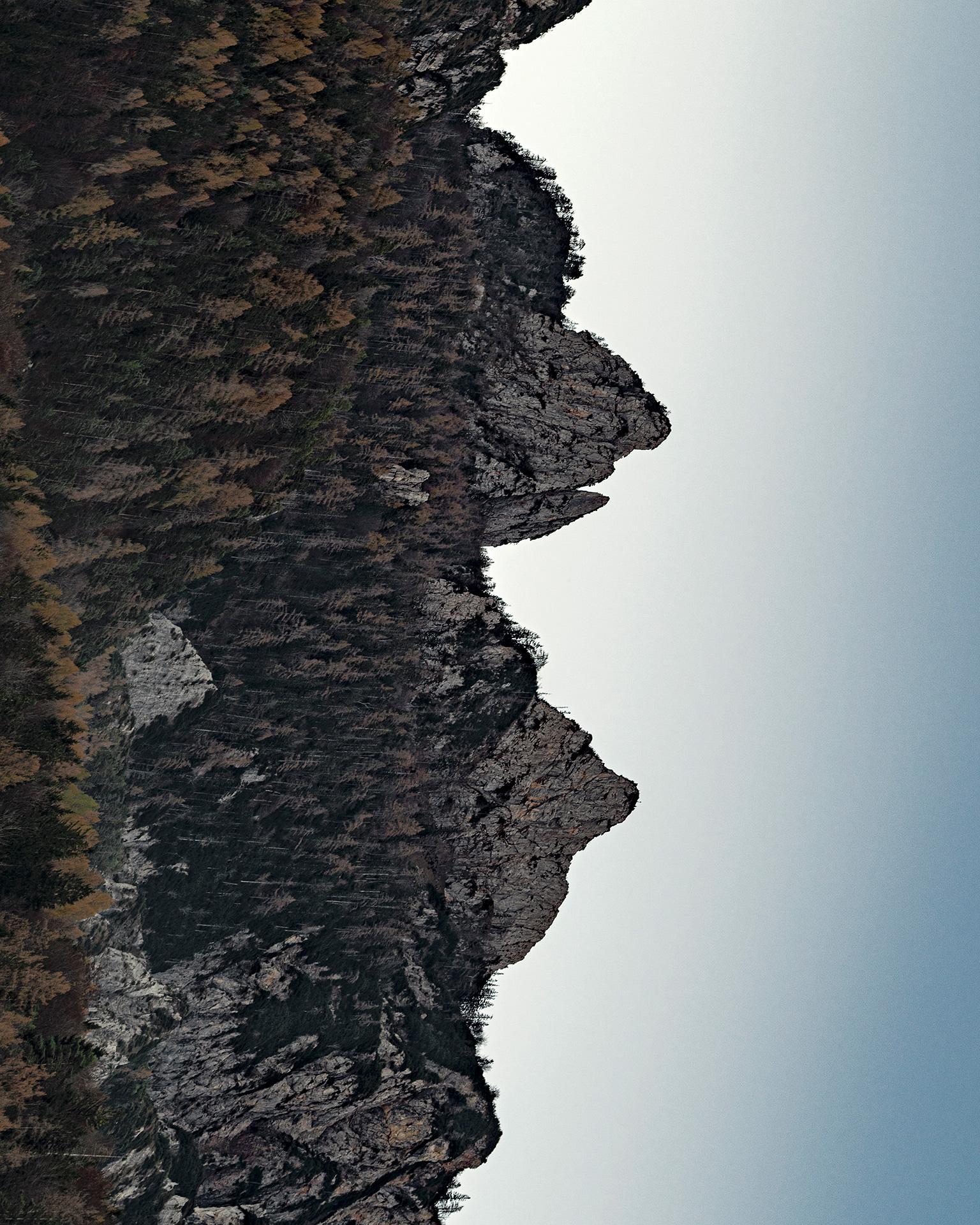 Bernhard Lang Fotografa Imagens Ilusórias de Montanhas Artes & contextos lang 6