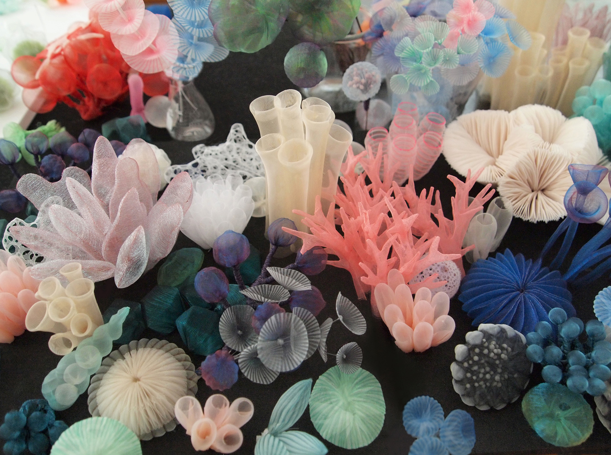 Translucent Textiles Cast Organisms and Mundane Objects as Dreamy Sculptures and Wearables