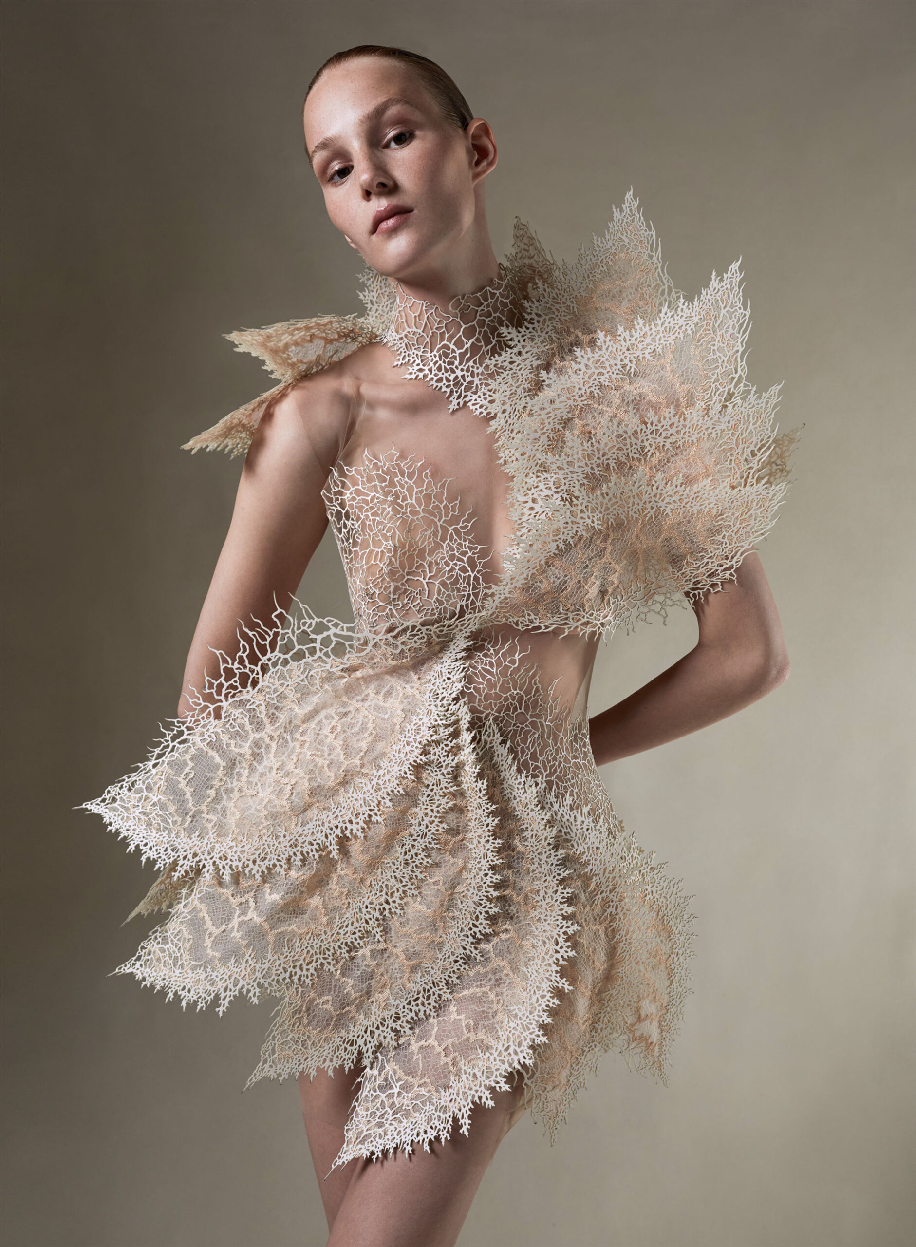 Earthrise: A Striking New Collection by Iris Van Herpen Recycles Plastic Waste into Sculptural Garments