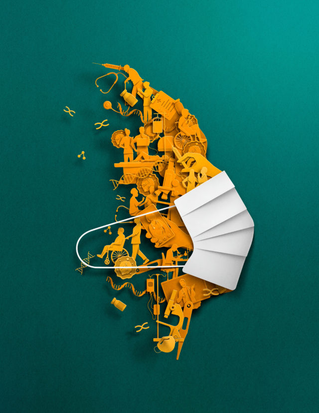 Timely Editorial Illustrations by Eiko Ojala Elegantly Explore the World's Most Pressing Topics